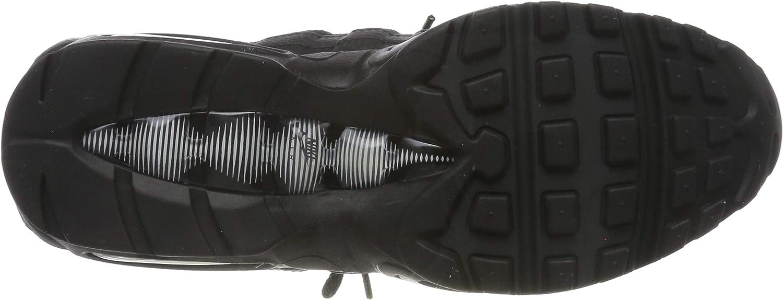 Nike Air Max 95 Essential Hardloopschoenen voor volwassenen, uniseks, zwart Zwart Black Black Anthracite White 001