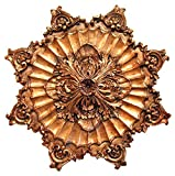 Hickory Manor House Acanthus Rope Ceiling Medallion, Baroque