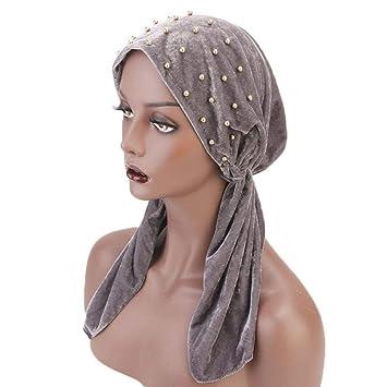 6f8cbe583e9 Amazon.com  Turban Hat Scarfs for Womens