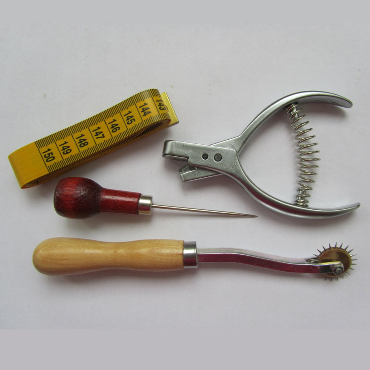 KUNPENG - PATTERN DESIGNER SET - NOTCHER+AWL+TRACING WHEEL+TAPE