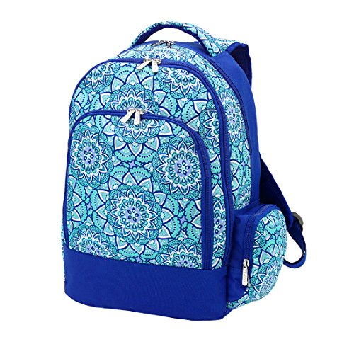 Monogrammed - Day Dream Print Reinforced Design Water Resistant Backpack