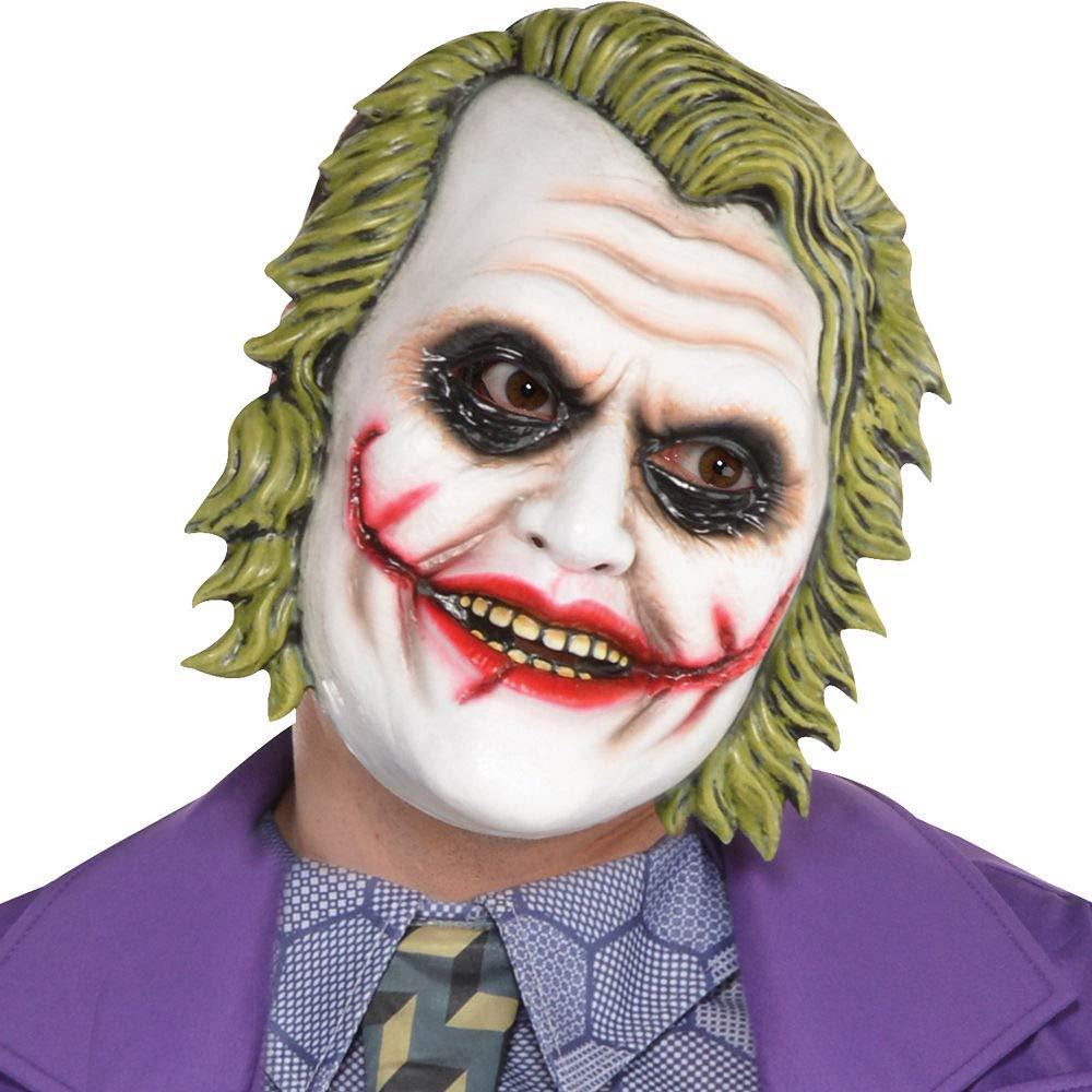 Amazon.com: Traje de Halloween Joker para hombre, diseño de ...