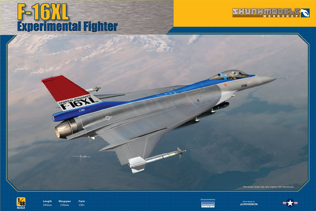 Skunkmodel Workshop SW-48026 - Modellbausatz F-16XL Experimental Fighter