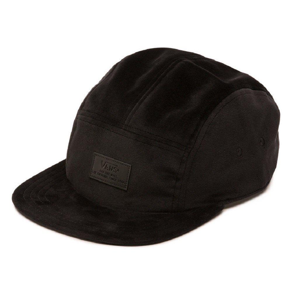 7e55d2807b4 Vans Lewis 5-Panel Black Unisex Camper Hat