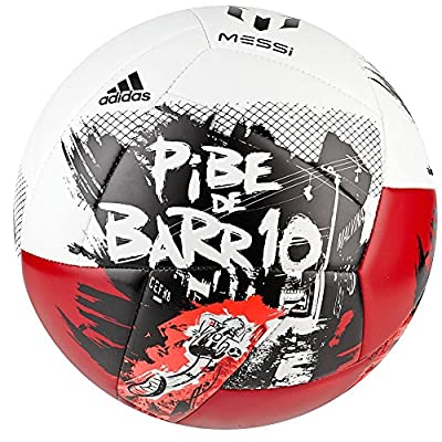 Adidas Performance Messi Soccer Ball Size 5 (white)