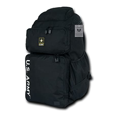 Rapiddominance Army Top Load Backpack, Black