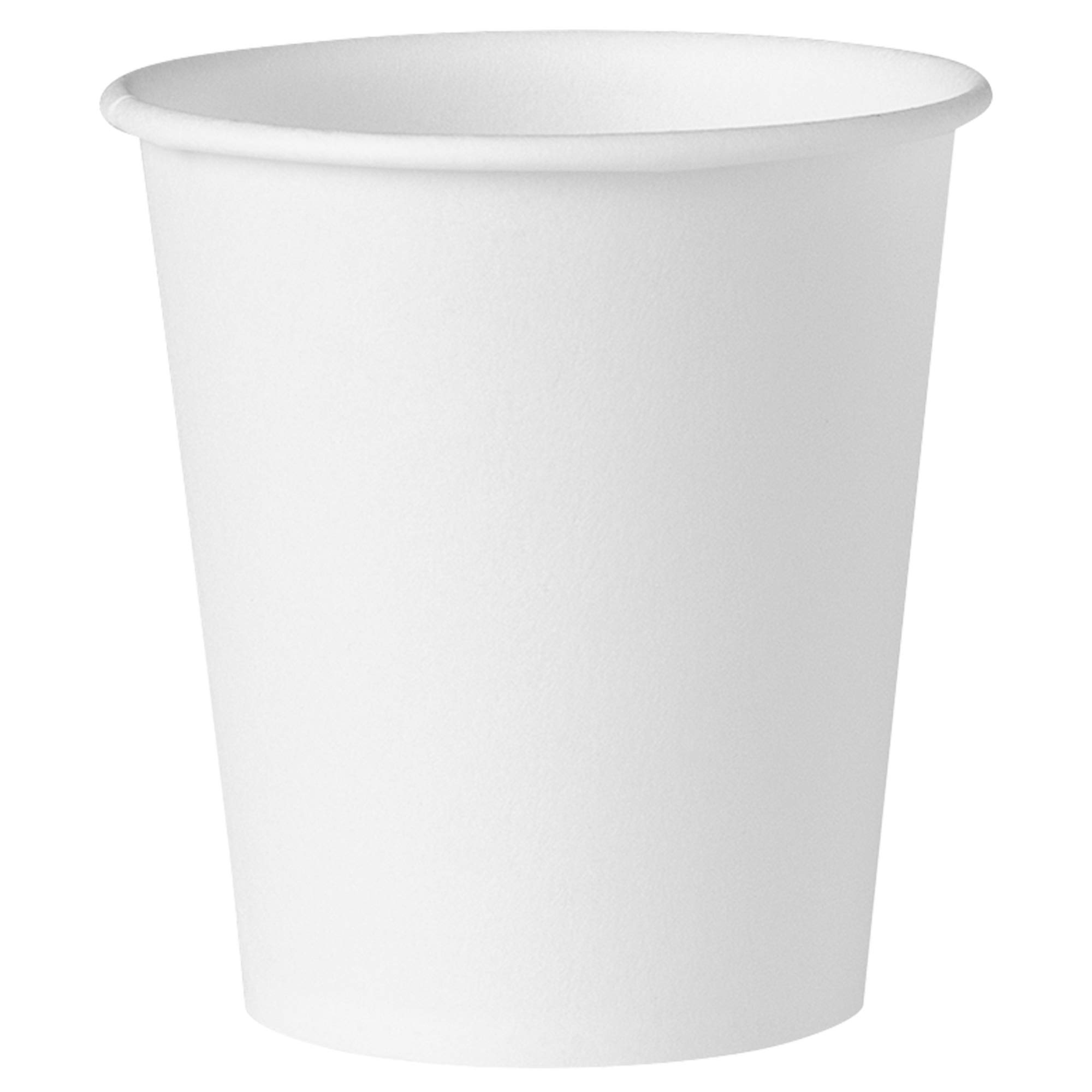 Solo 44-2050 3 oz White Treated Paper Cup (Case of 5000)