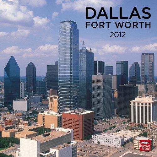 Dallas/Ft. Worth 2012 Square 12X12 Wall ()