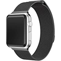 Sunbona for Apple Watch Series 3 Bracelet Bands 42mm, Stainless Steel Magnetic Mesh Watches Strap Men Women Wrist Watch Band
