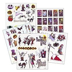 Nightmare Before Christmas Tattoos - 75 Temporary Tattoos ~ Jack Skellington, Sally, Oogie Boogie, & More!