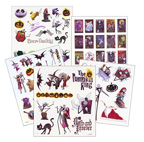 Nightmare Before Christmas Tattoos - 75 Temporary Tattoos ~