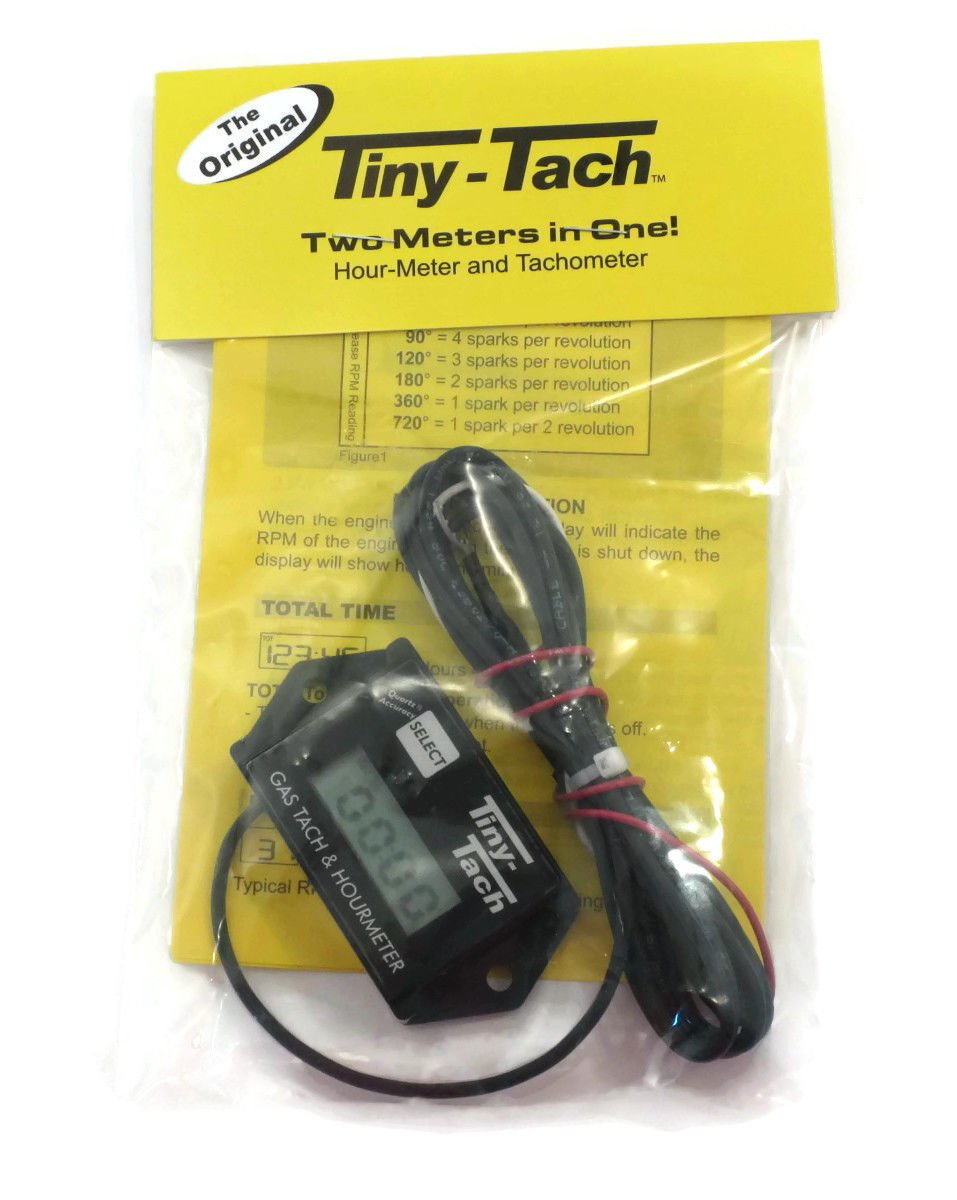 Tiny Tach Tt2am Digital Hour Meter Tachometer Ac Wiring Adjustable Resettable Job Timer By The Rop Shop Automotive