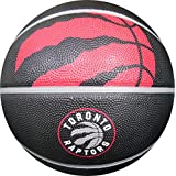 Spalding Toronto Raptors Courtside Rubber Outdoor Basketball, Size 7/29.5""