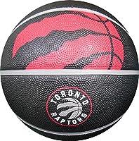 "Spalding Toronto Raptors Courtside Rubber Outdoor Basketball, Size 7/29.5"""