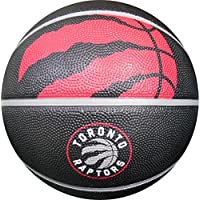 "NBA Toronto Raptors Spaldingteam Logo, Black, 29.5"""