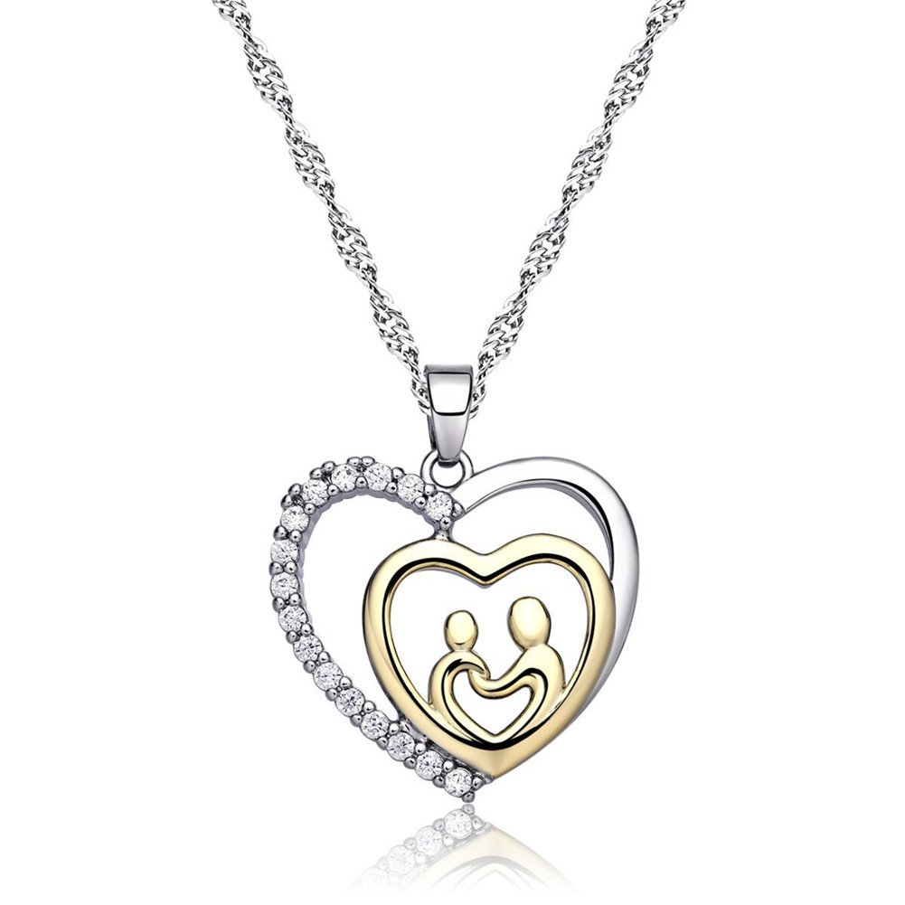 Amazon Mothers Birthday Gift Love Heart Necklace Jewelry For Women Day Gifts Mom Mother Grandma Valentines Present Arts