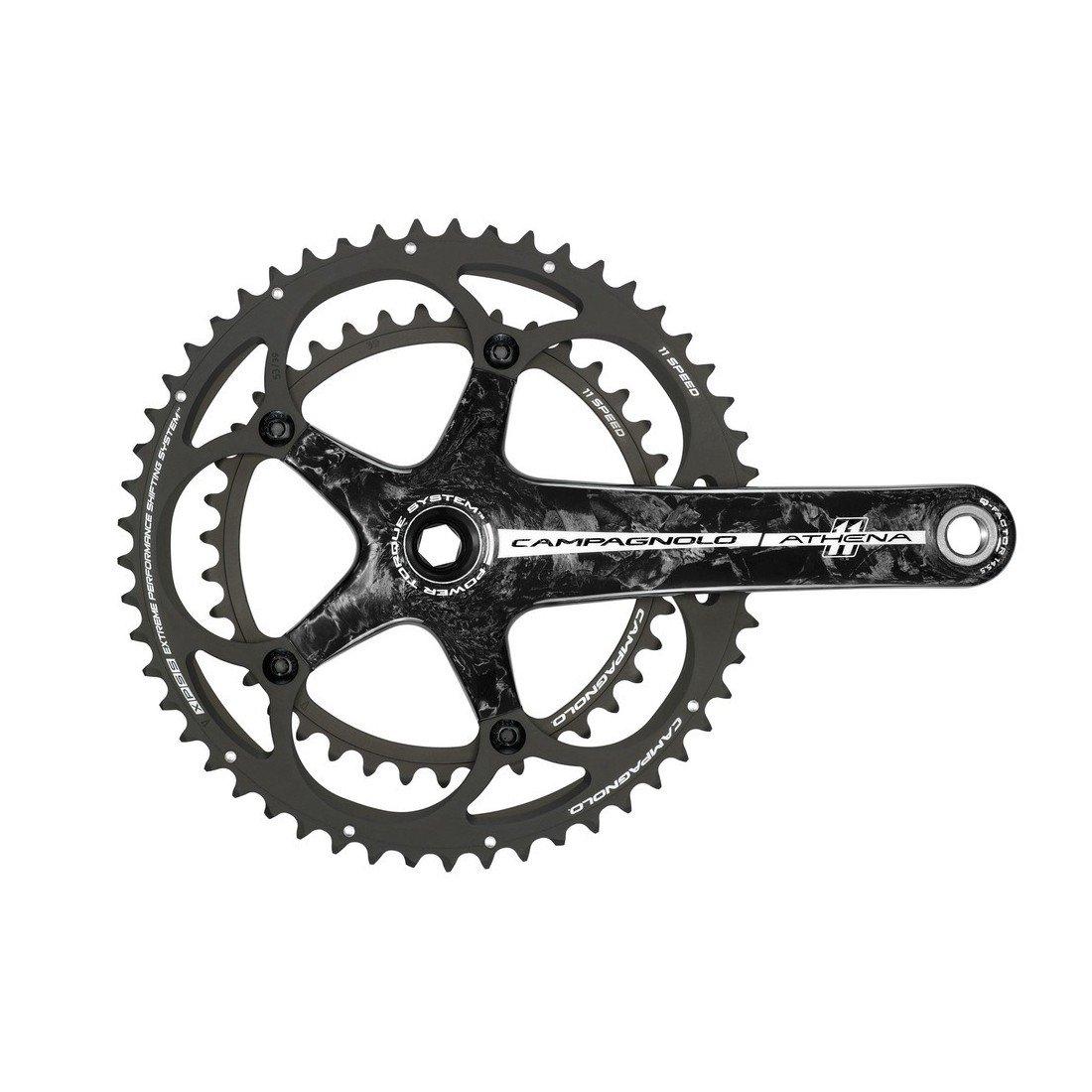 campagnolo(フリガナ: カンパニョーロ) 自転車 ロードバイク 部品 アテナ カーボンクランクセット 170/52/39 18-FC11AT092C B00DHGWXTK