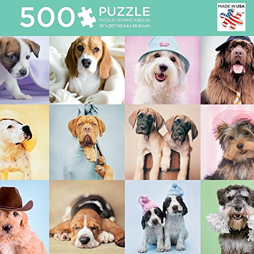 Andrews + Blaine The Puppy Pack Puzzle (500 Piece) for sale