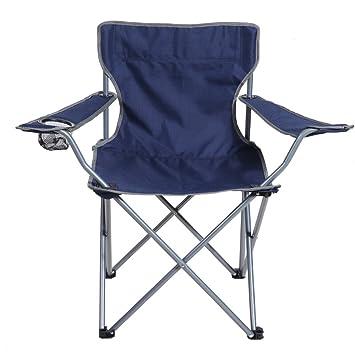GHM Silla de Camping Silla Plegable de Pesca Playa Silla de ...