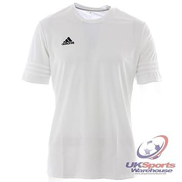 adidas Entrada 14 Adulto Fútbol Camisa Jersey Climalite Blanco - Blanco, Chica: Amazon.es: Deportes y aire libre