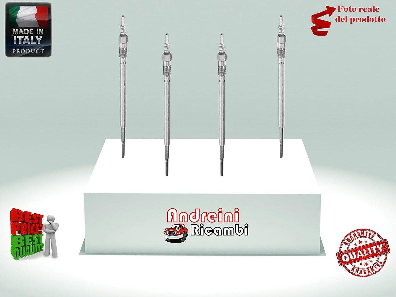 KIT 4 CANDELETTE FREEMONT 2.0 JTD 4X4 125KW 170CV DAL 2011-2013 GN097