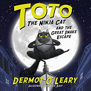 Toto the Ninja Cat and the Great Snake Escape Audiobook