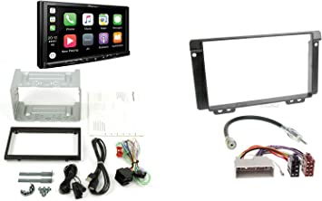 Land Rover Freelander Ln 04 06 2 Din Car Radio Navigation And Installation Kit With Land Rover Connection Cable Antenna Adaptor And Radio Faceplate Anthracite Navigation Car Hifi