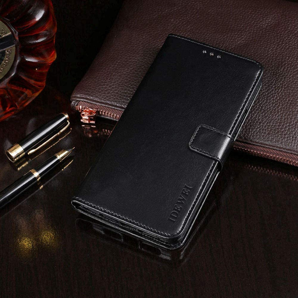 Acer Liquid Z330 Case, PU Leather Stand Wallet Flip Case Cover for Acer Liquid Z330,Business Style Phone Protection Shell,The case with[Cash and Card Slots]