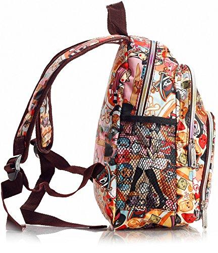 Big Handbag Shop - Bolsa unisex Backpack 645 - Winter Scene