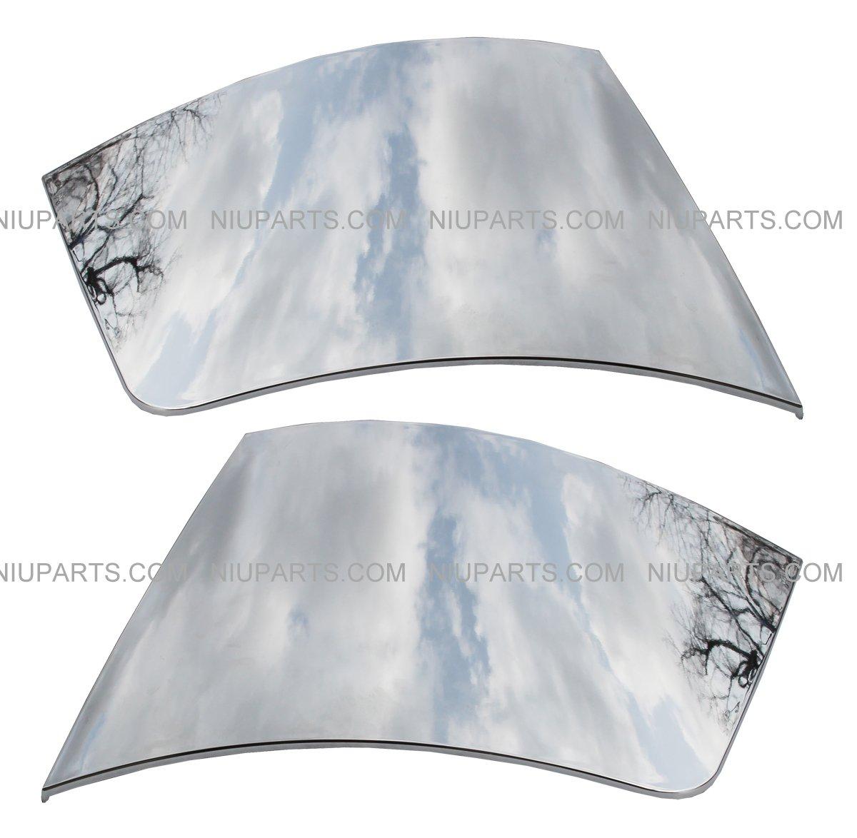 Side Bumper End Cap Cover - Driver & Passenger Side (Fit:Volvo VNL) NIUPARTS