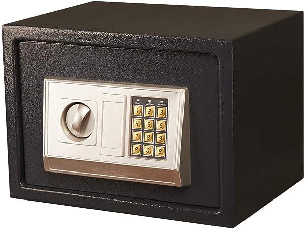 YDHBD Cajas Fuertes Pequeña Electrónico Contraseña Llave A Prueba De Humedad para La Seguridad del Efectivo Guardar Objetos De Valor, 35 * 25 * 25Cm: Amazon.es: Hogar