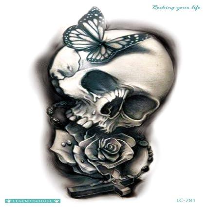 Etiquetas engomadas del tatuaje ambiental original hermoso ciervo ...