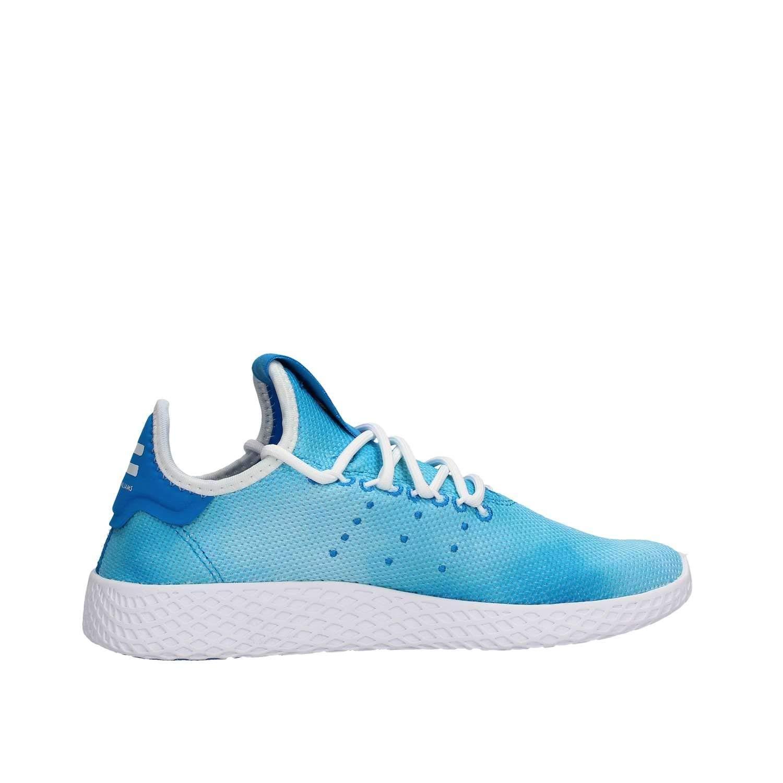 sports shoes 1b150 92cfd adidas Baskets Pharell Williams Tennis Hu J ScarletFTWR Whit