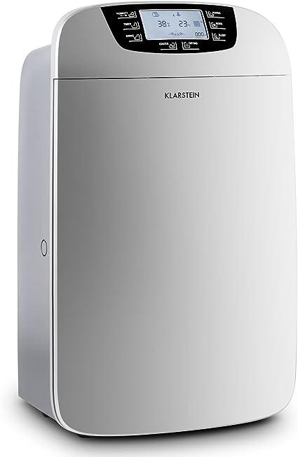 Klarstein Drybest 35 10028185 - Deshumidificador (Acero inoxidable ...