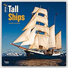 Tall Ships 2016 Square 12x12 Wall Calendar
