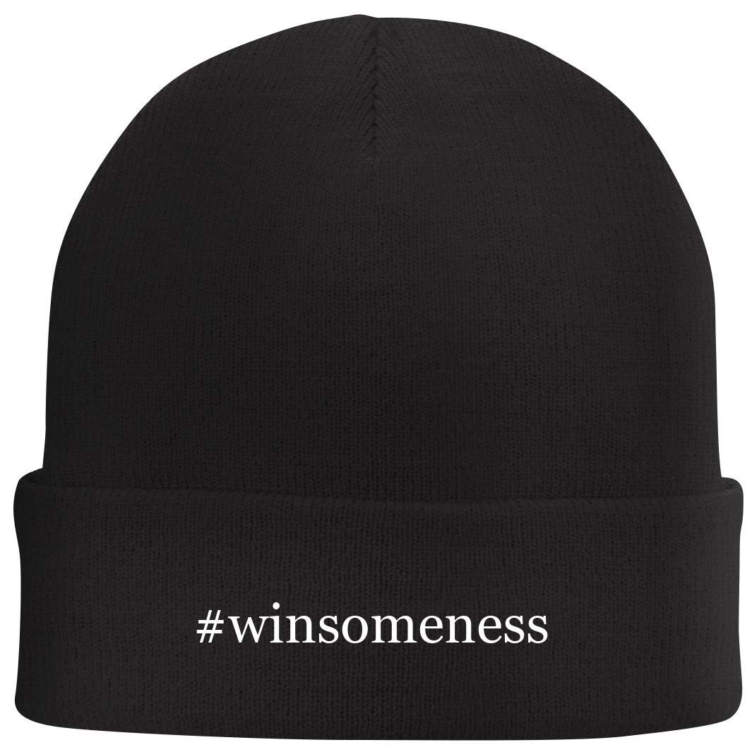 Tracy Gifts #Winsomeness - Hashtag Beanie Skull Cap with Fleece Liner