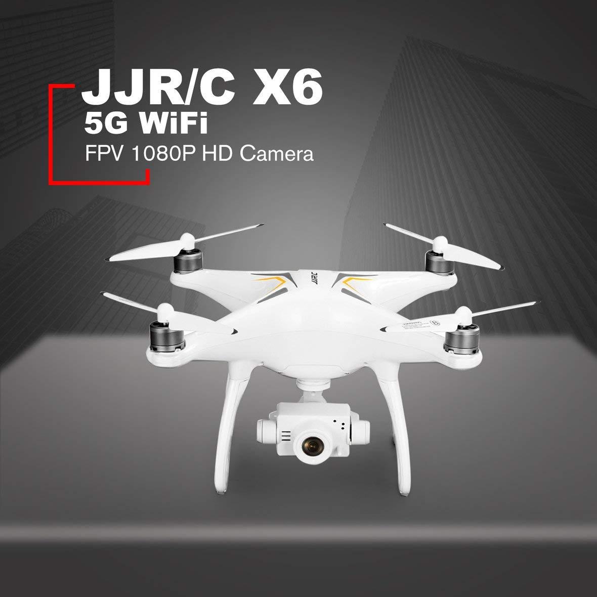Heaviesk JJR/C X6 GPS Drone Drone sin escobillas Profesional 5G ...