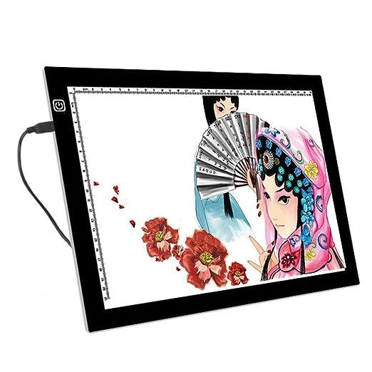 Art Supplies Caja de luz A4 para Dibujar, Tarjeta de Copia ...