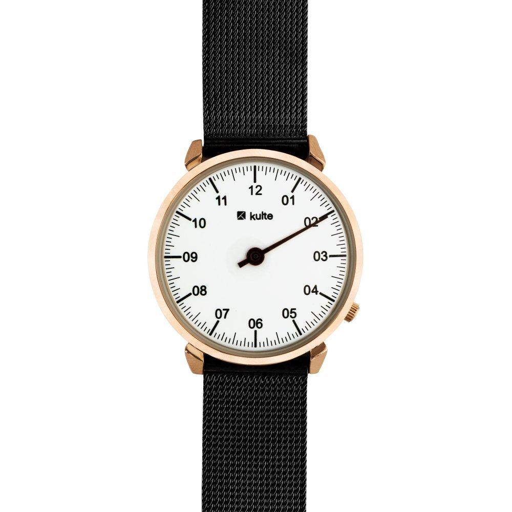 Kulte Reloj Analógico para Unisex Adultos de Cuarzo con Correa en Acero Inoxidable KU15-0017