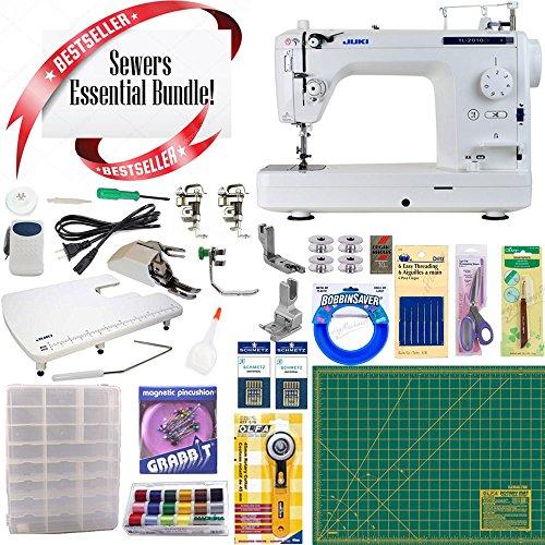 (Juki TL2010Q Long-Arm Sewing & Quilting Machine w/ Sewing essential Bundle)