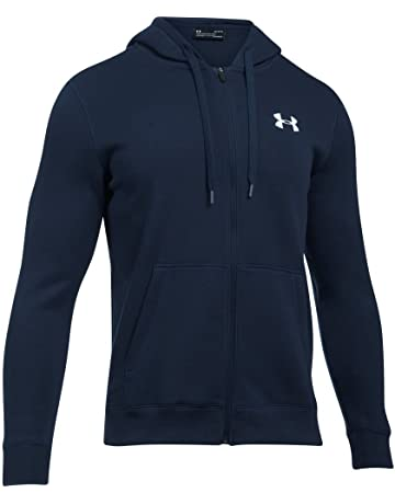 Under Armour Rival Fitted Full Zip Sudadera, Hombre