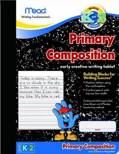 Mead Primary Composition Book, Ruled, 100 Sheets/200 Page...