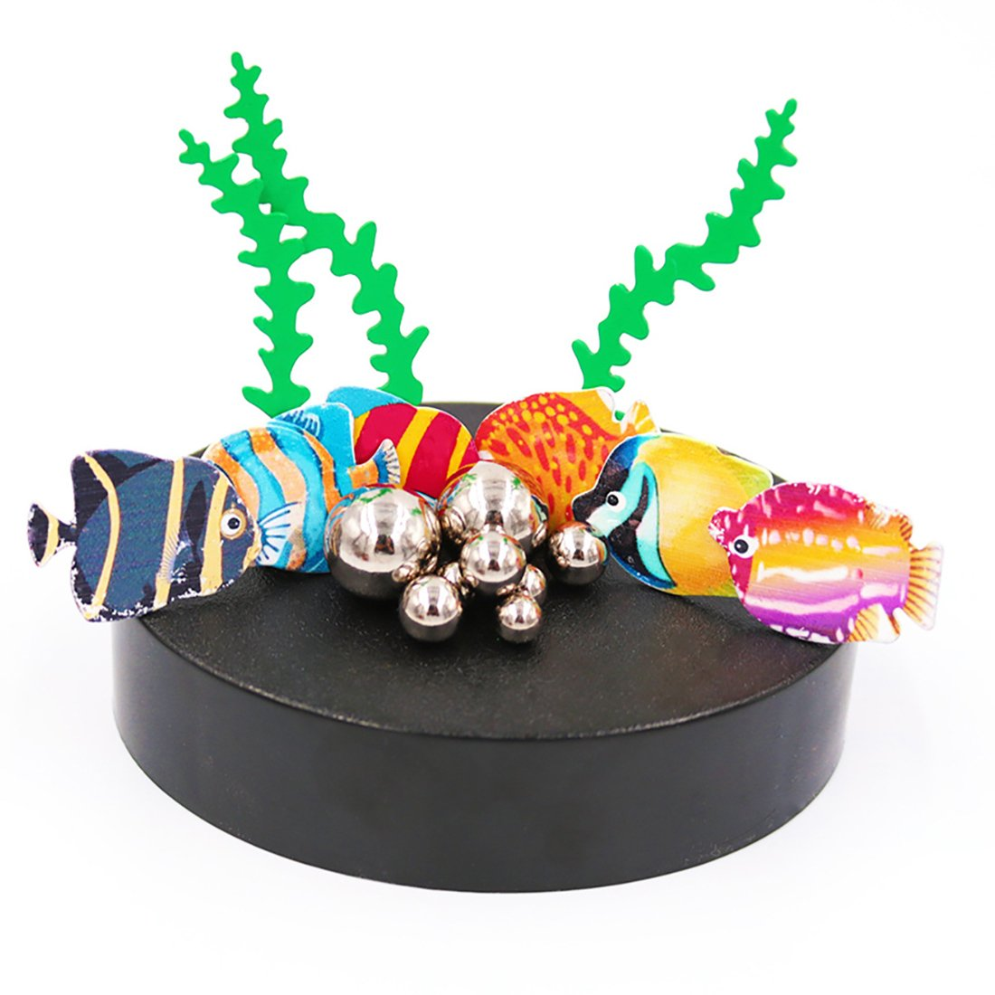 AblueA Magnetic Toy for Office Desk (Fishes)