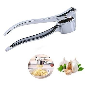 niceeshop(TM) Plata Picador Prensa Prensador de Ajos de aleación de zinc para Utensilio de Cocina: Amazon.es: Hogar