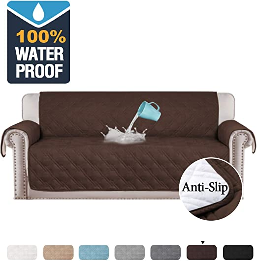 Waterproof Pet Sofa Cushion Cover Mat Slipcover Couch Pad Stretch Protector Wash