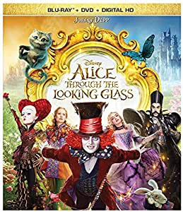 Alice Through the Looking Glass (BD + DVD + Digital HD) [Blu-ray]
