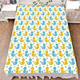 Bedding Bed Ruffle Skirt 3D Print,Pattern with Little Hearts Love Animals Print,Best Modern Style Bed Skirt for Men and Women by 90.5''x96.5''