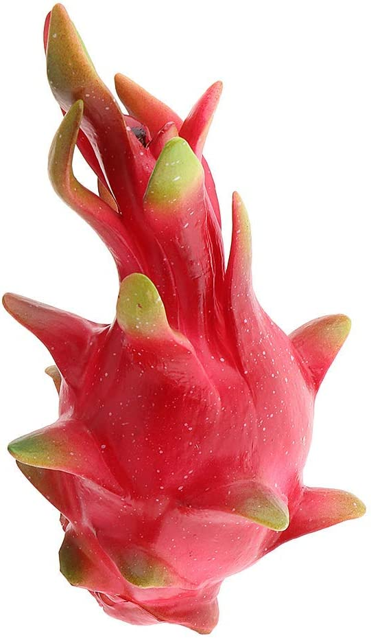 Tubayia 2 St/ück K/ünstliche Drachenfrucht Obst Modell Kunstobst Dekoration Foto Prop