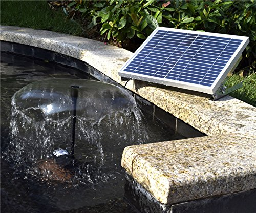 Tangpan 15W Brushless Solar Panel Power Fountain Pump For Bird Bath or Small Pond