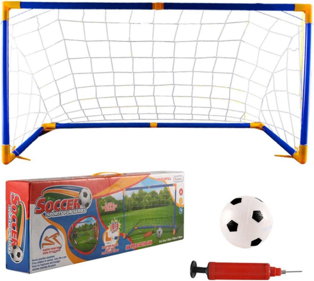 Fu/ßballtor Pop Up inkl Fu/ßball-Tore f/ür Outdoor Indoor Macium Fu/ßballtor f/ür Kinder Mini Fu/ßball und Zubeh/ör 60 x 30 x 41cm